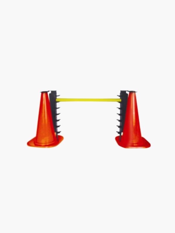 Barrier with cones