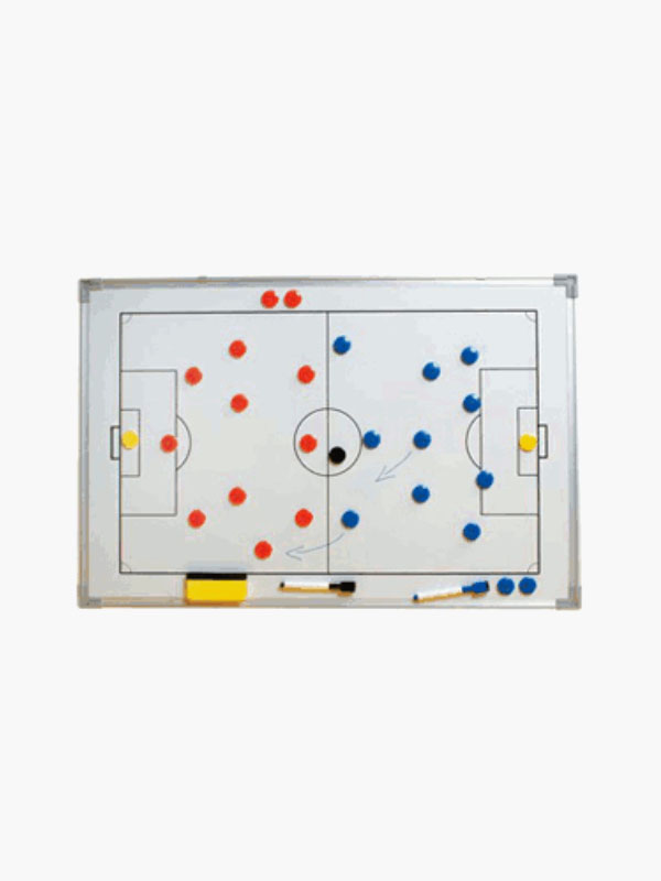 Magnetic wall football tactics frame